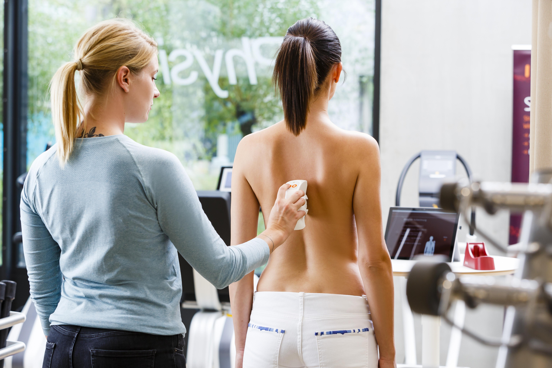 Rückenanalyse